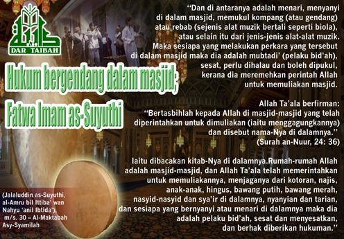 Fatwa Sayuti- Gendang Dlm Masjid