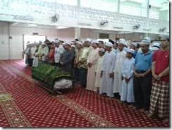 Solat Jenazah Masjid U Klg