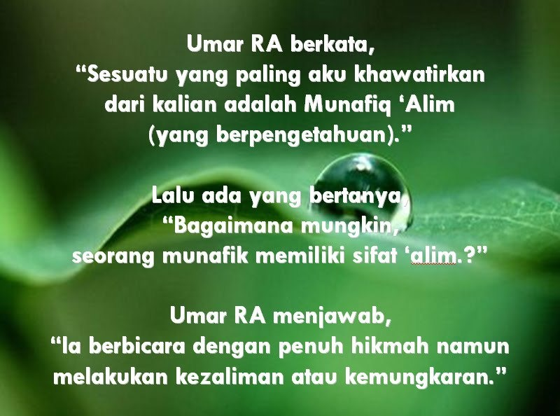 Munafiq Fitrah Islami Online