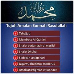 7 Amalan Sunnah